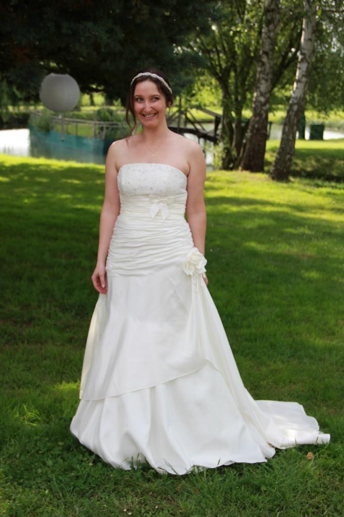 Mariage participatif mariée