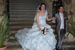 mariage conte de fées à la mairie