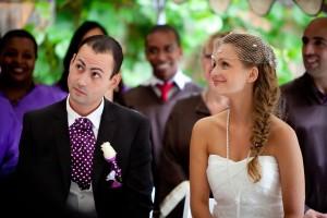 mariage diy cérémonie laique chorale gospel émotion mariés