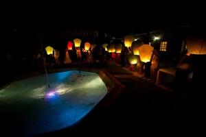 mariage diy cérémonie laique chorale gospel départ lanternes thai