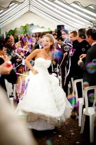mariage diy cérémonie laique chorale gospel mariée