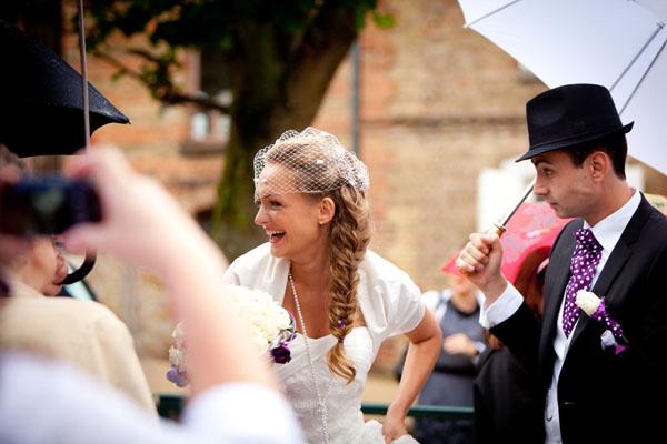 mariage diy cérémonie laique chorale gospel rire mariée