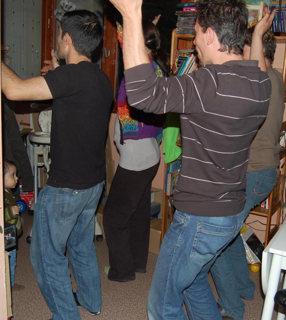 préparatifs première danse