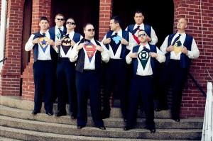 Mariage thème super héros