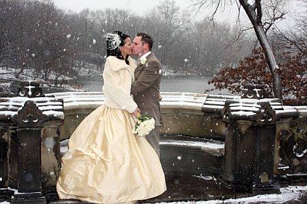 robe de mariée d'hiver avec bolero