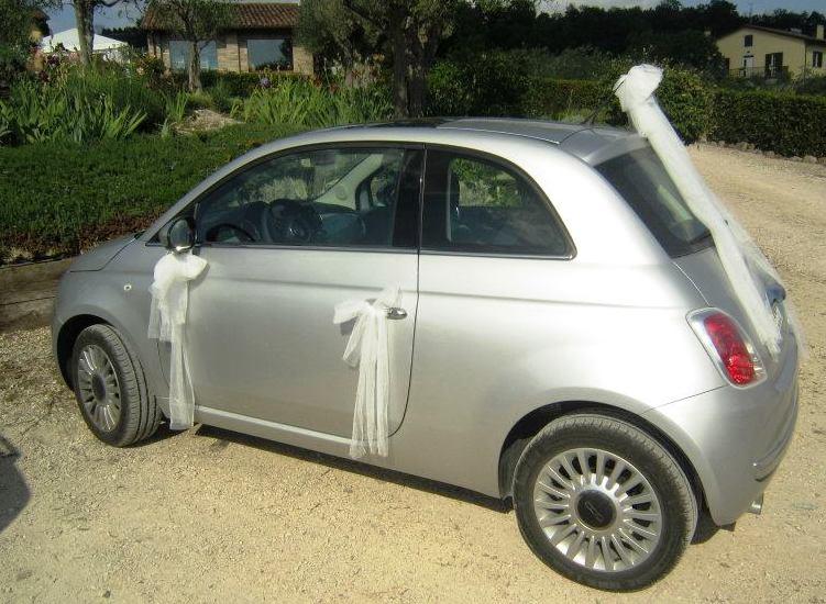 Fiat 500 des mariés