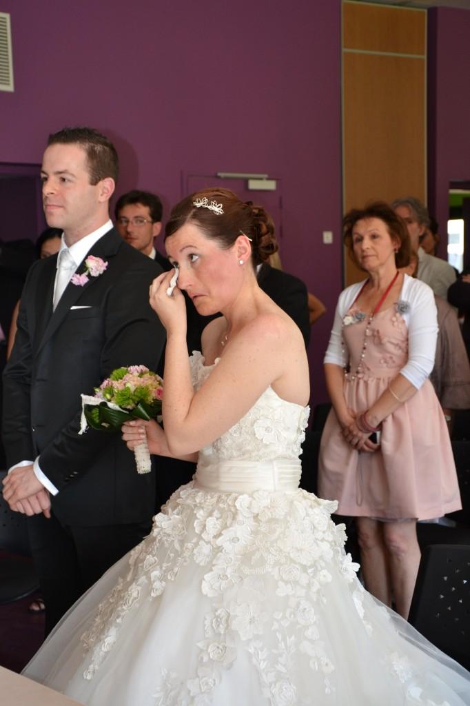 mariage champêtre chic cérémonie mairie