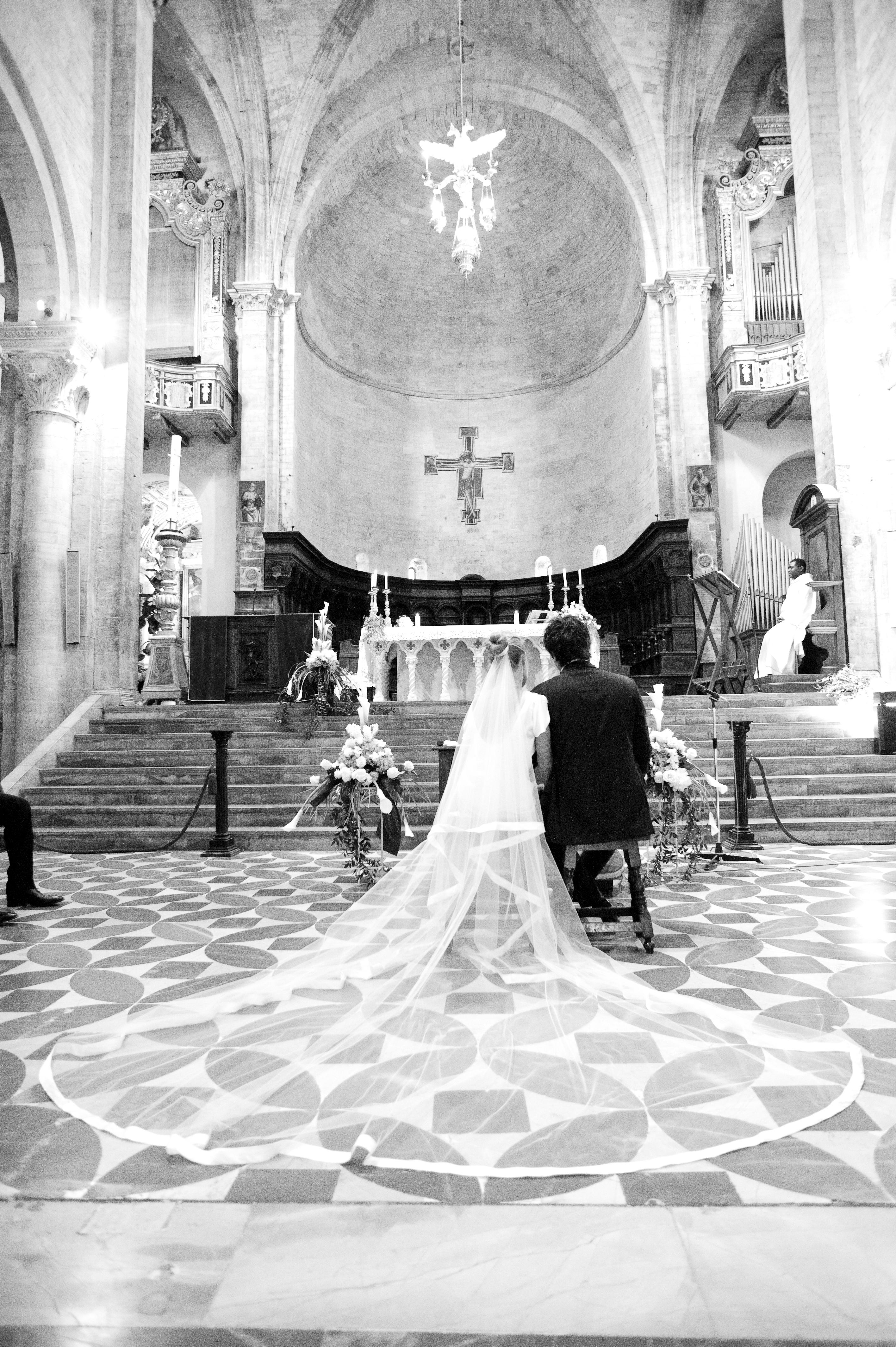 Mon mariage en Italie : la messe