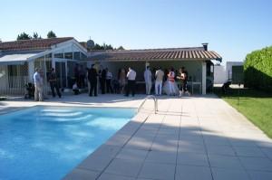 mariage diy piscine