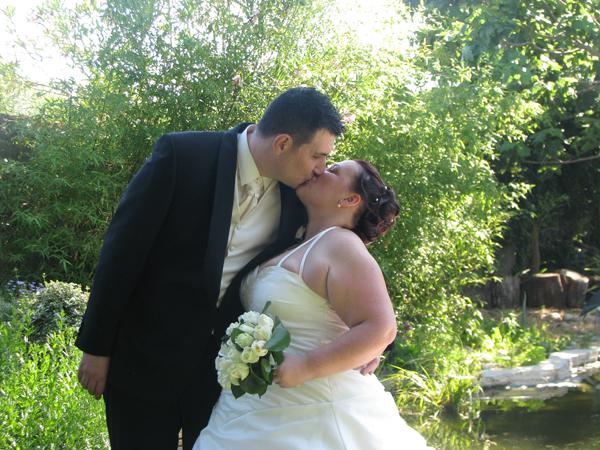 mariage diy piscine bisou