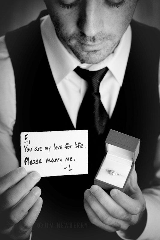 L'histoire de ma demande en mariage