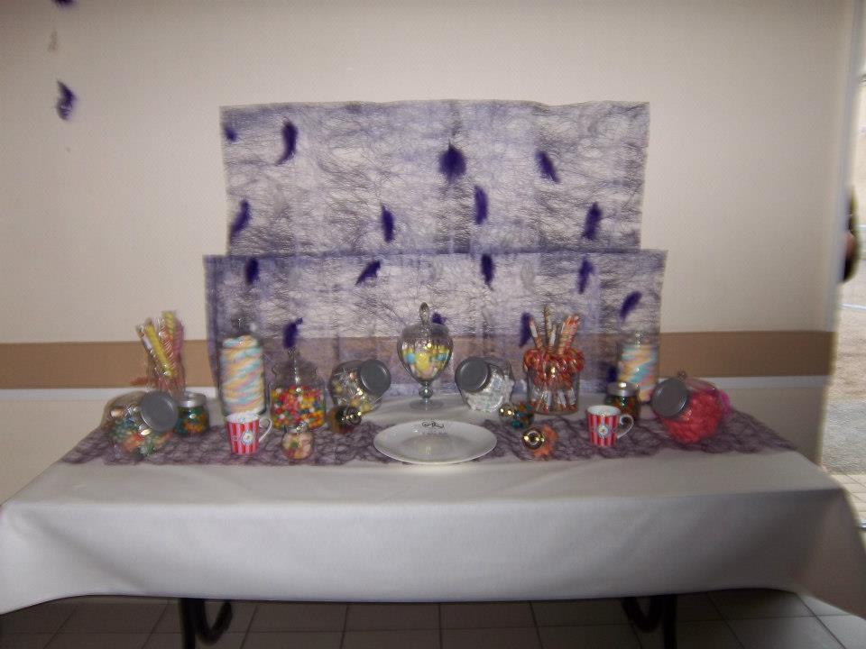 Mon mariage participatif, décoration candy bar