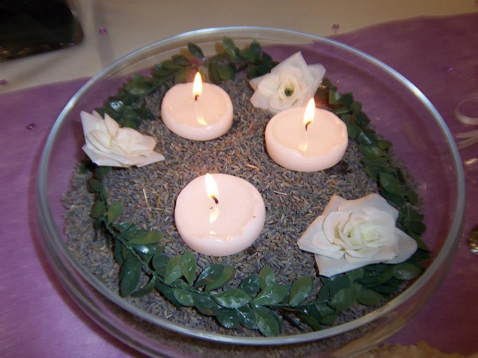 Mon mariage participatif, décoration centre de table