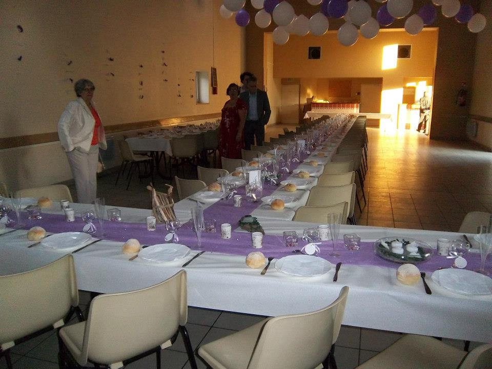 Mon mariage participatif, décoration de salle