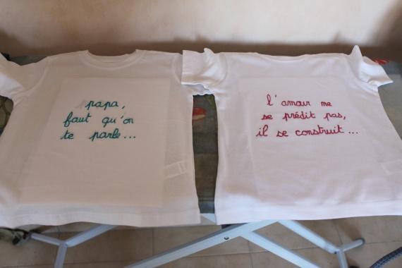 T-shirts des enfants