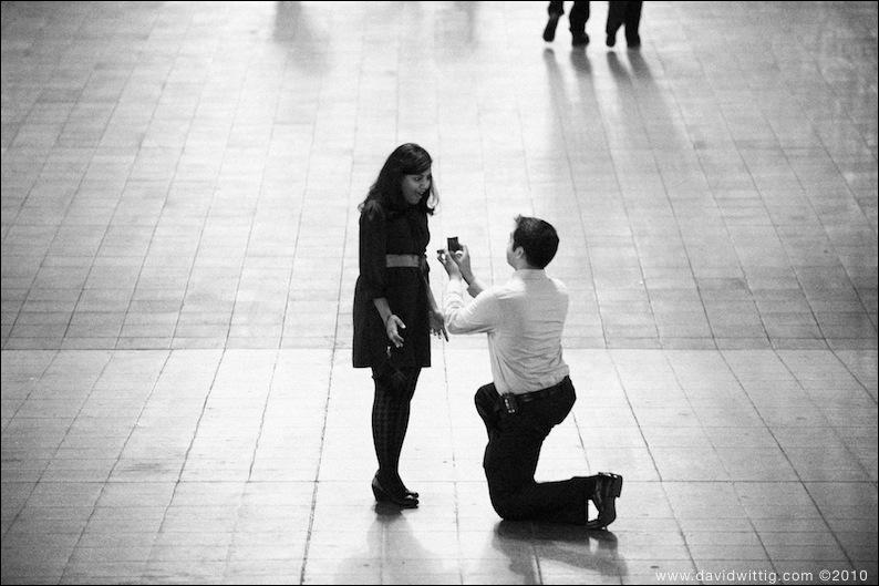 Ma demande en mariage : le grand huit des émotions !