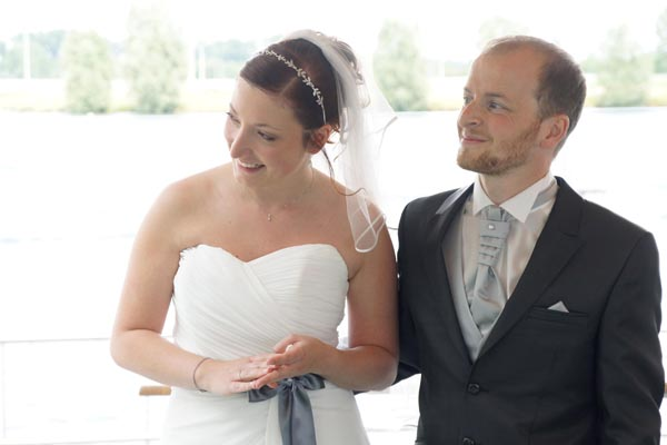 mariage au bord de l'eau