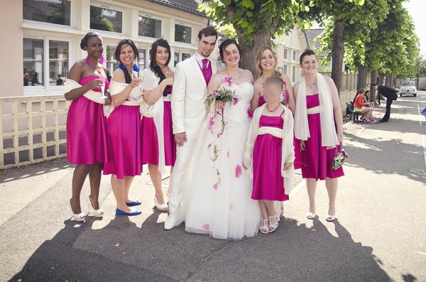 Mariage conte de fee vintage demoiselles d'honneur