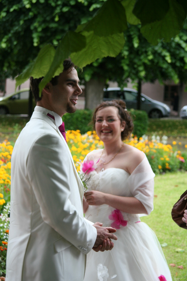 mariage conte de fee vintage maries
