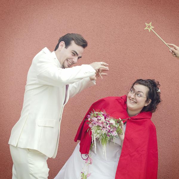 Mariage conte de fee vintage photobooth