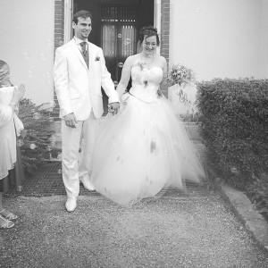 mariage conte de fee vintage sortie maries