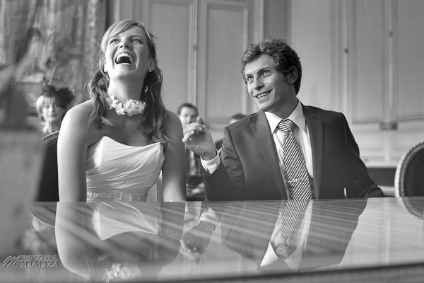 être à l'aise devant l'objectif le jour du mariage