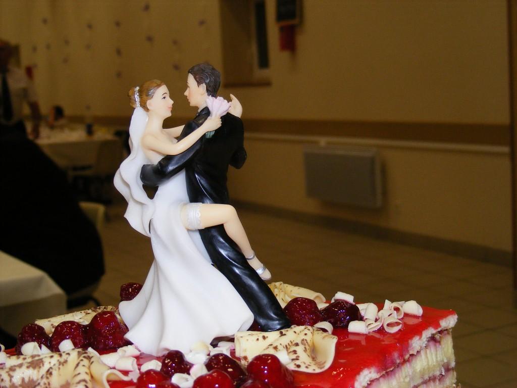 Mon mariage participatif pièce montée cake topper