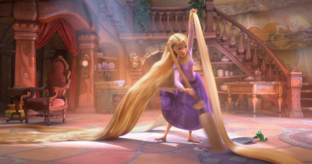 cheveux longs mariage