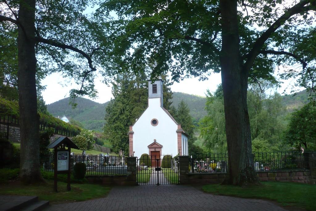 Eglise protestante pour notre mariage