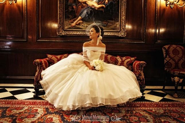 mariée luxe
