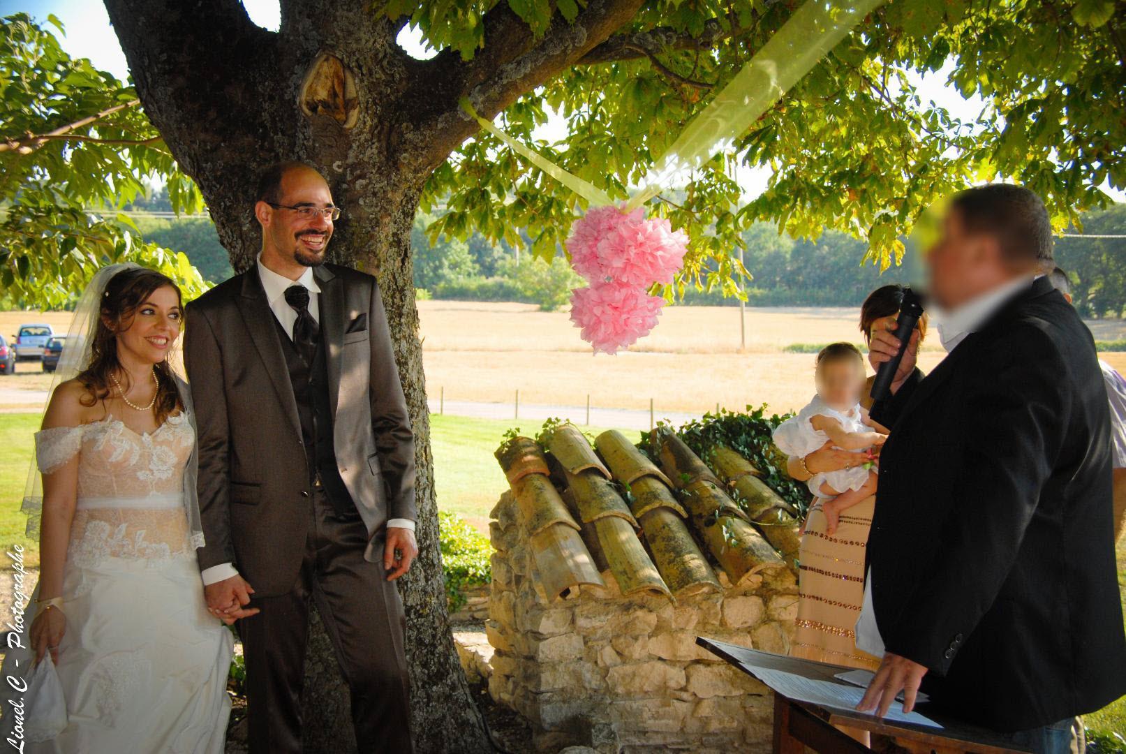 Mon mariage nature et champêtre : la cérémonie laïque