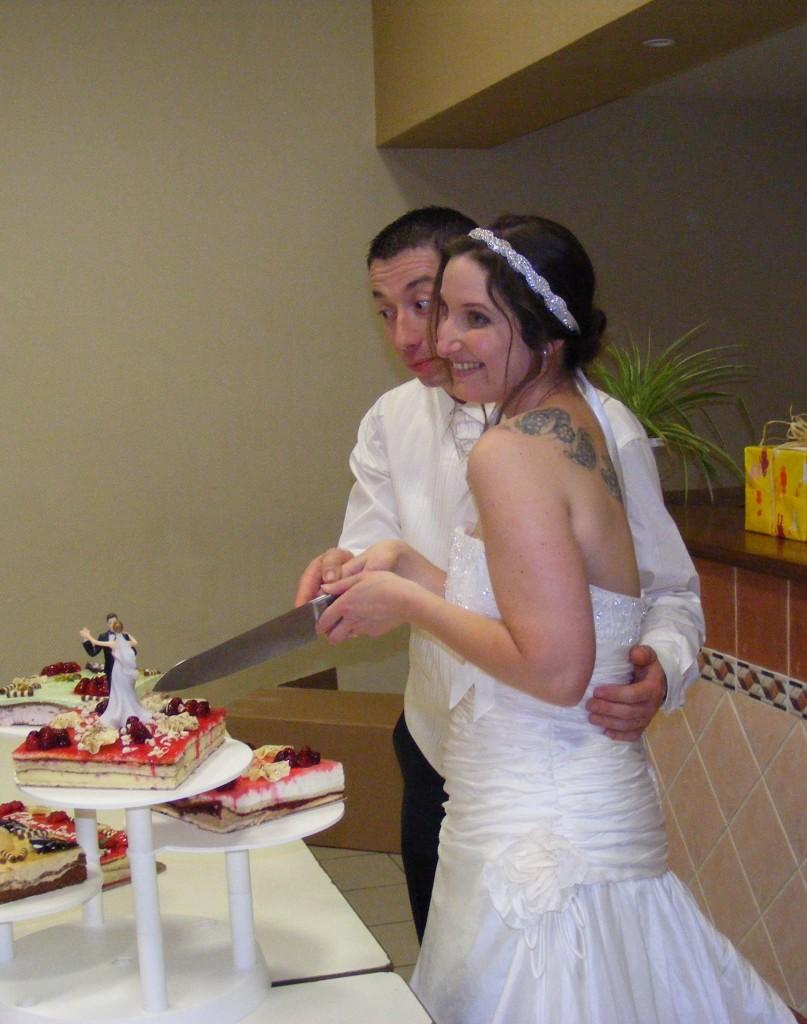 mariage Mme Tango - headband strass