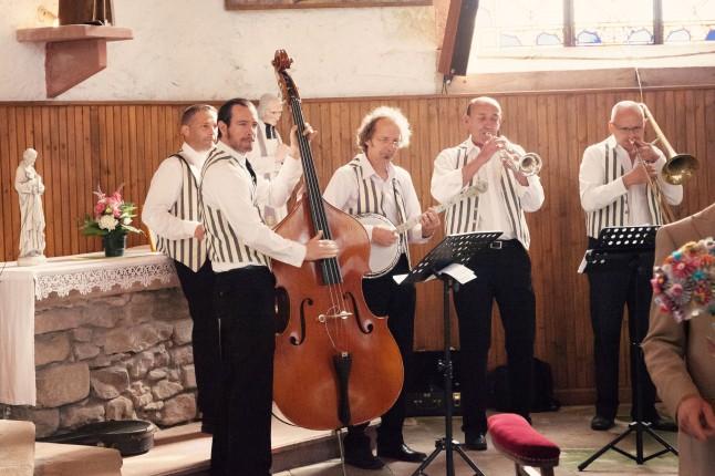 groupe de jazz mariage années 50
