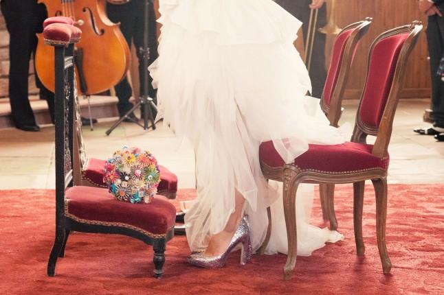 église mariage années 50
