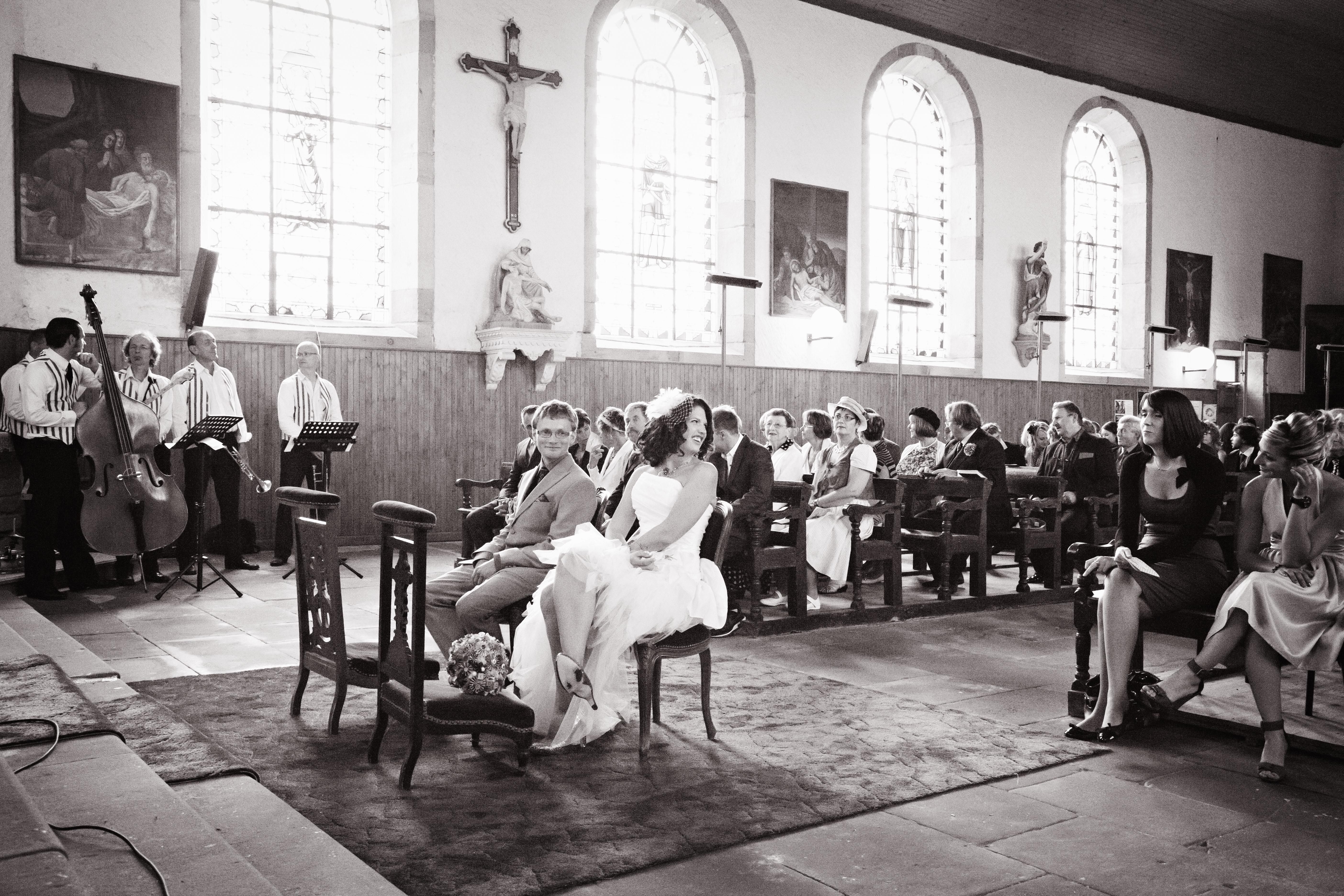 Mon mariage années 50 : l'heure des cérémonies