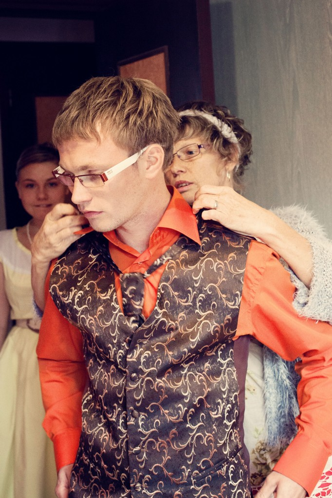Mariage Mme Fifties costume marié