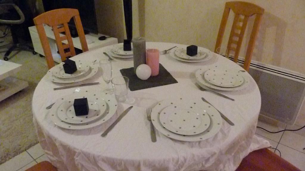 essai décoration table mariage