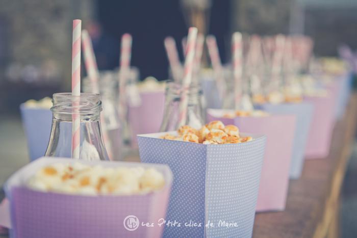mariage bohème champêtre bar cocktail