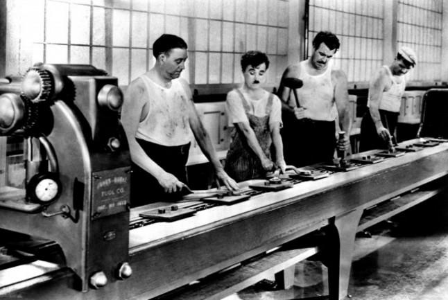 Les Temps Modernes Chaplin