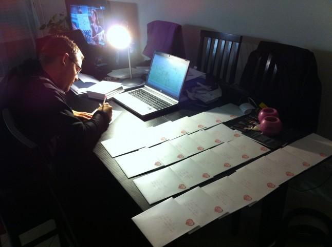 écriture des adresses