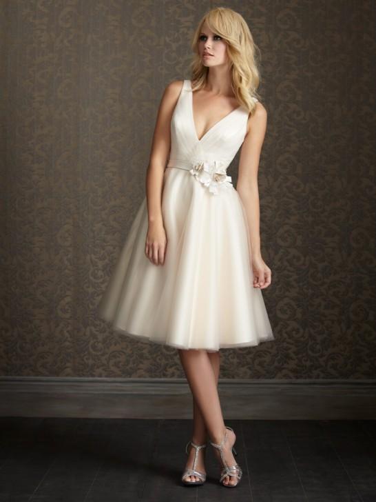 Trouver une robe de mariée courte… ou pas !
