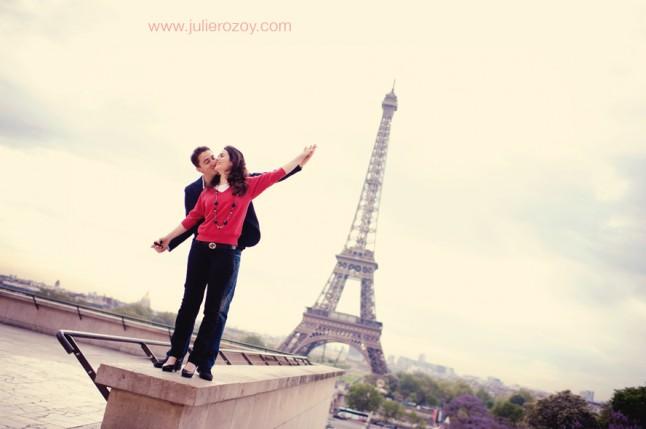 amoureux Tour Eiffel