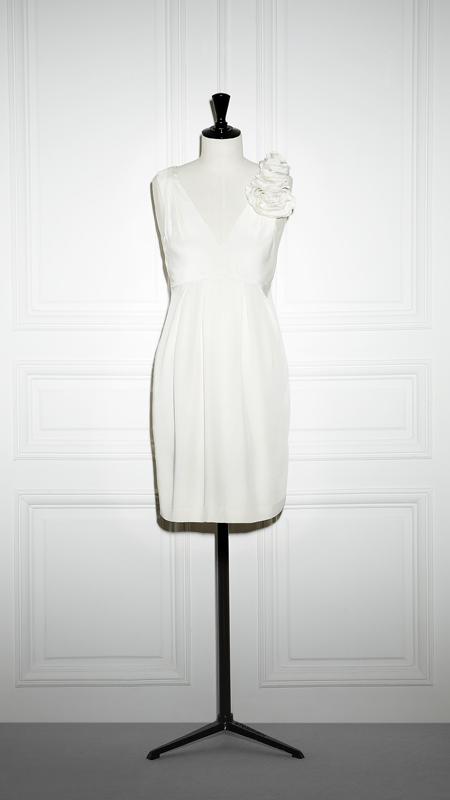 Robe de mariée courte Tara Jarmon