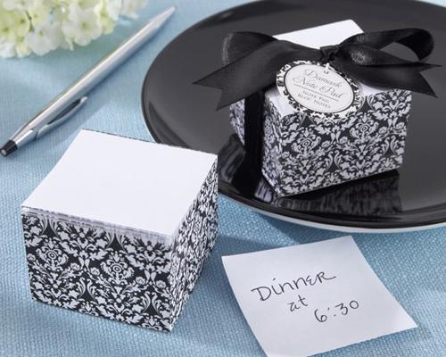 Cadeau invité mariage bloc note