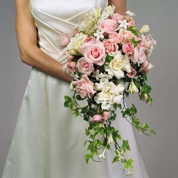 bouquet de fleurs mariée