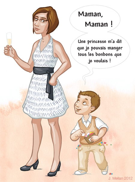 illustration mariage DIY : les cérémonies