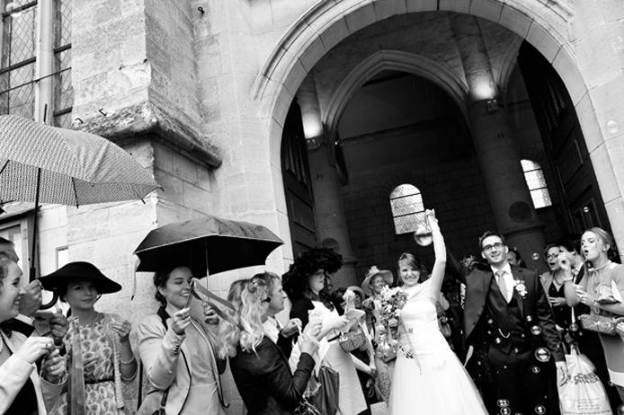 Mariage grandiose à l'Abbaye de Royaumont dans le Val d'Oise