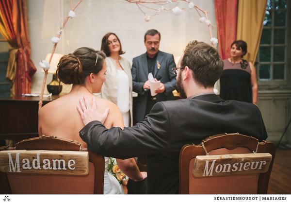 cérémonie d'engagement Mme Aquarelle