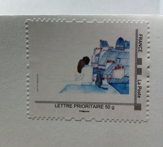 timbre personnalisé Mlle Feliner