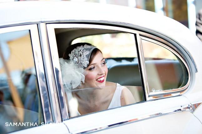 voiture mariés jaguar